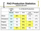 fao production statistics faostat 2000 2004