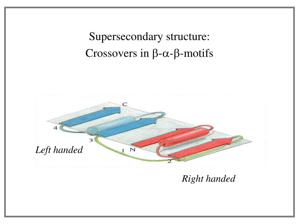 Supersecondary structure: