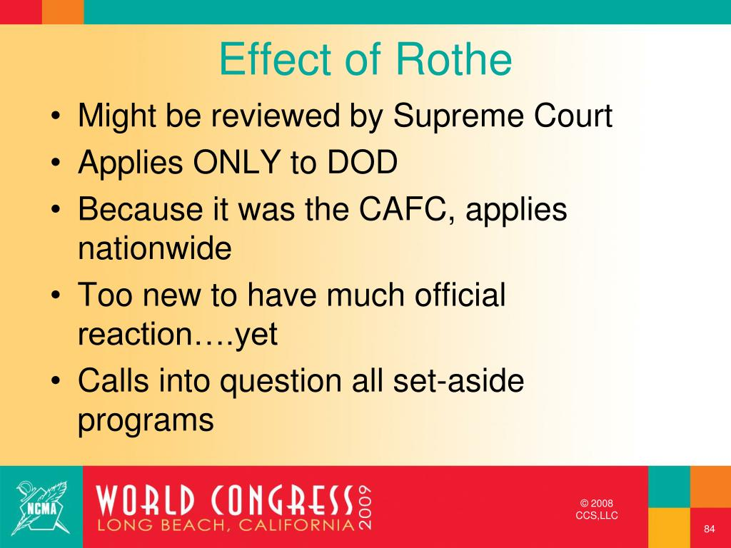 Effect of Rothe
