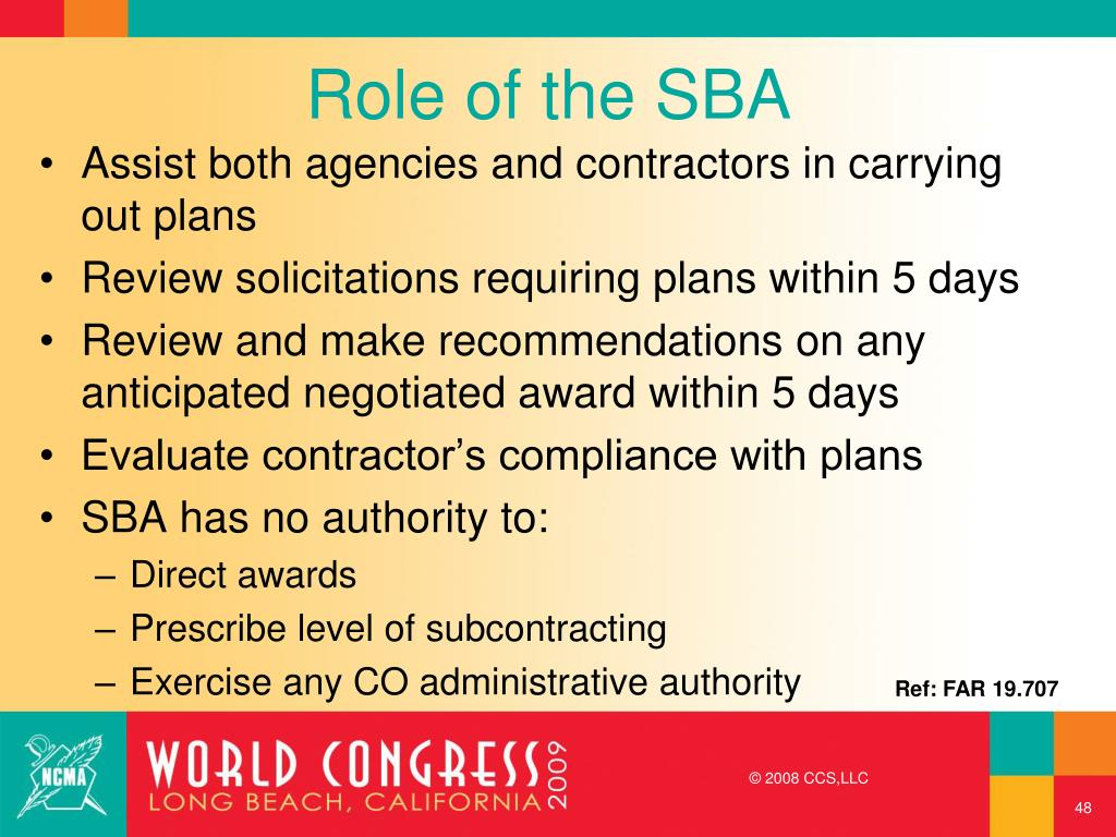 Role of the SBA