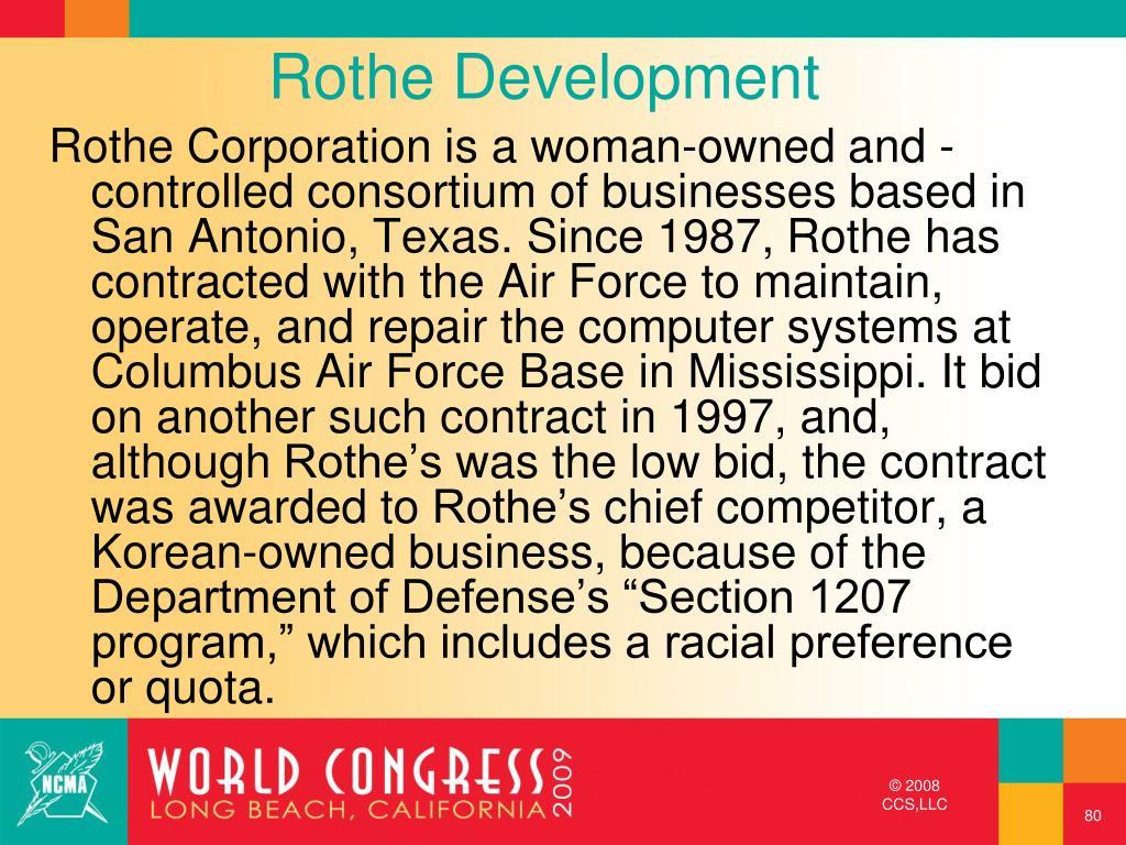 Rothe Development