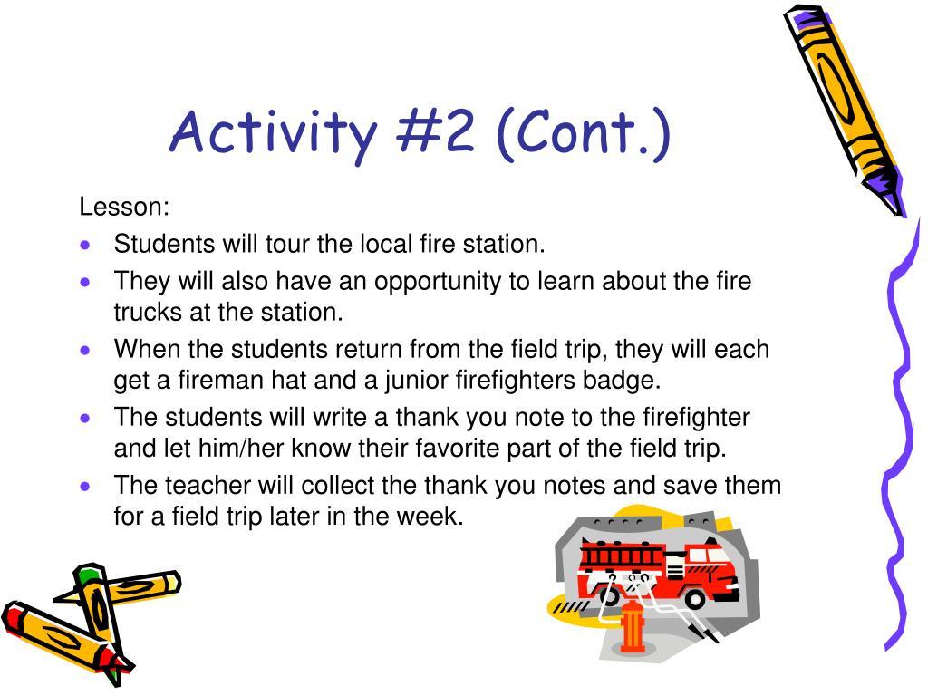 Activity #2 (Cont.)