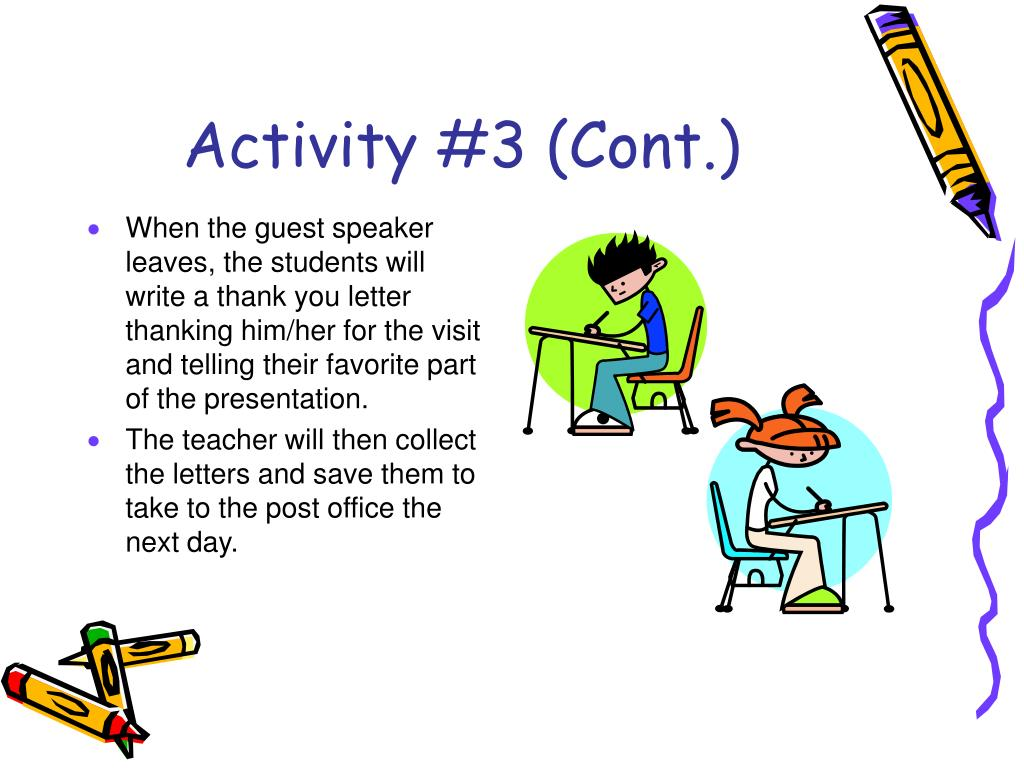 Activity #3 (Cont.)