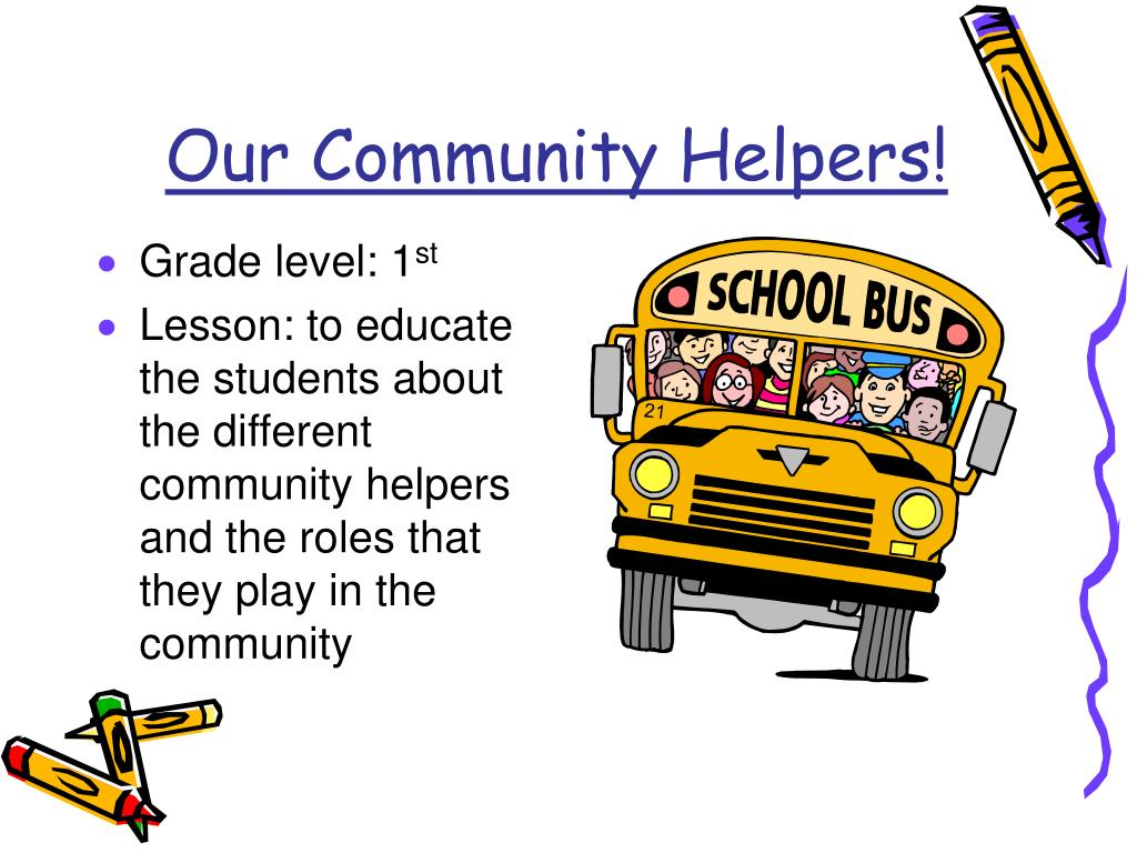 Our Community Helpers!