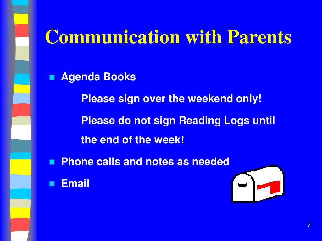 Communication with Parents