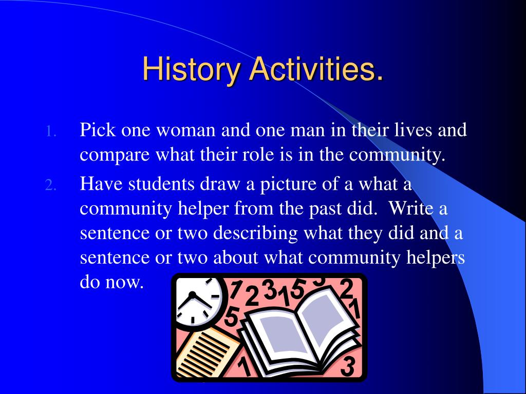 History Activities.