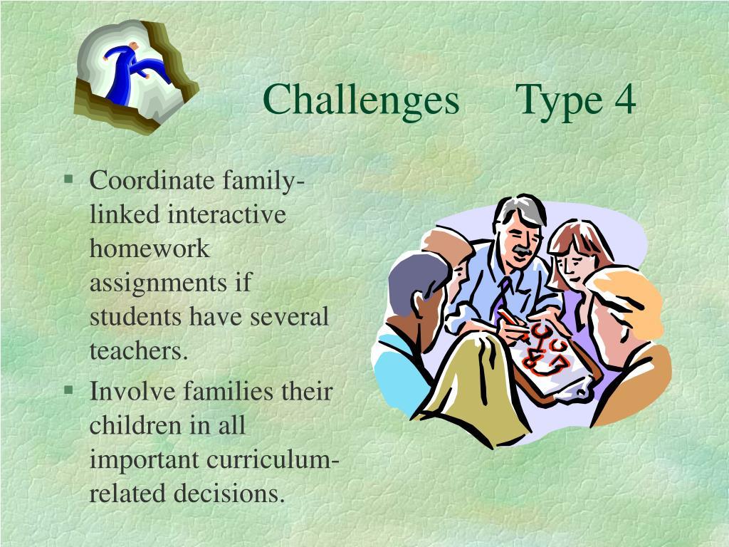 Challenges     Type 4