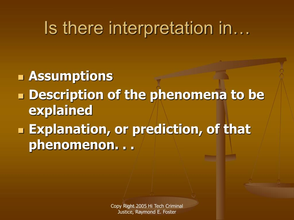 Is there interpretation in…