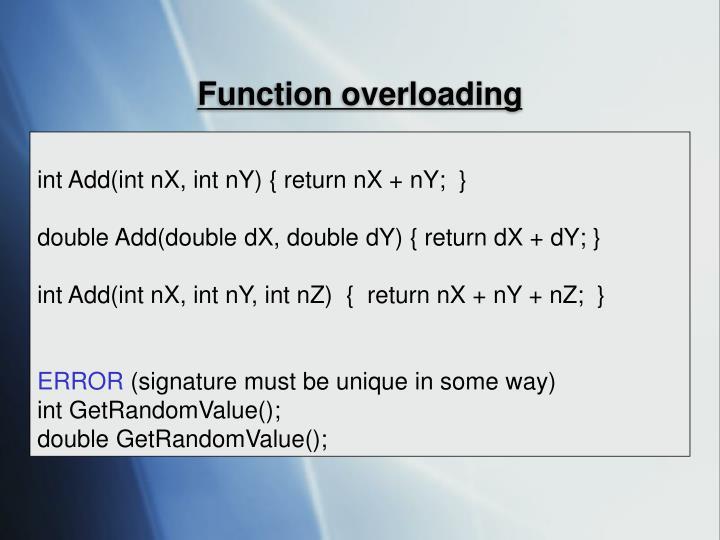 Function overloading3