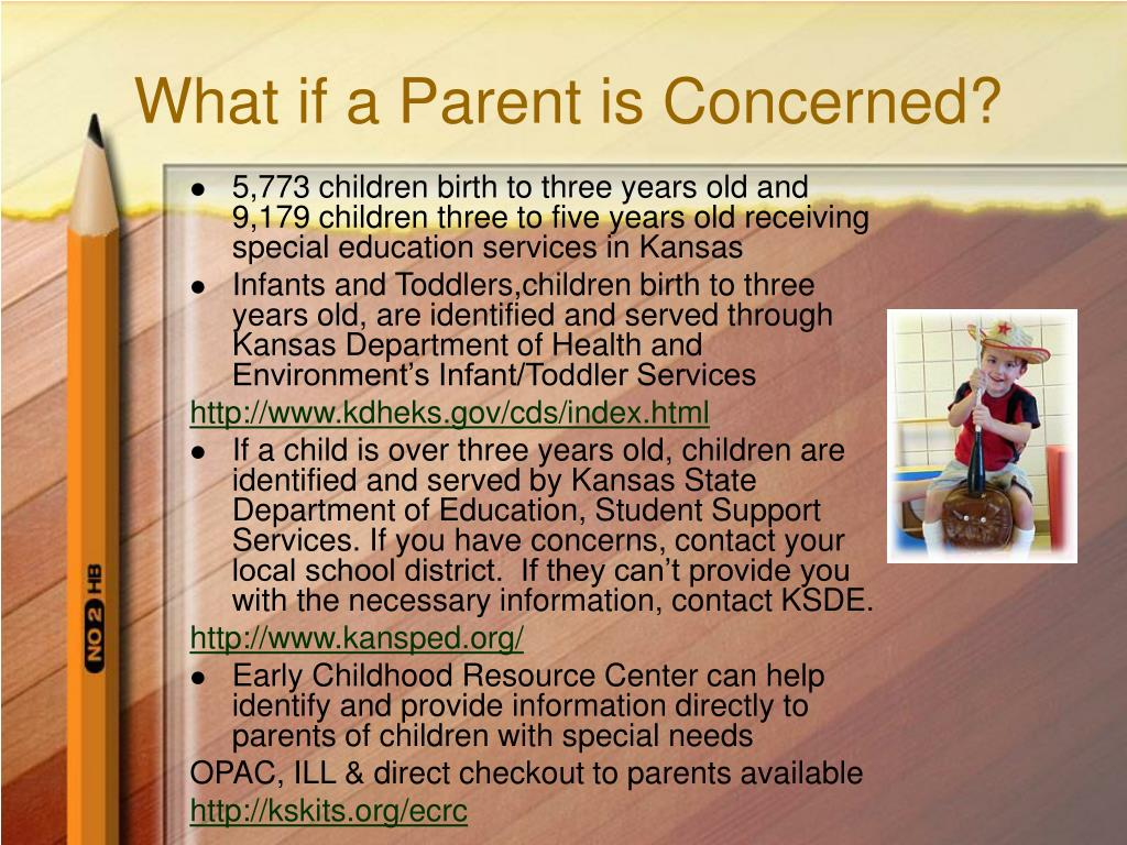 What if a Parent is Concerned?