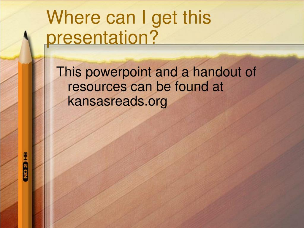 Where can I get this presentation?