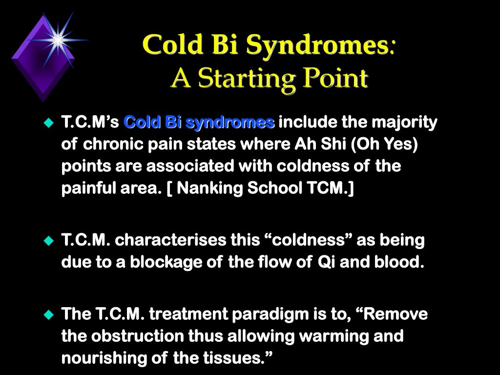 Cold Bi Syndromes