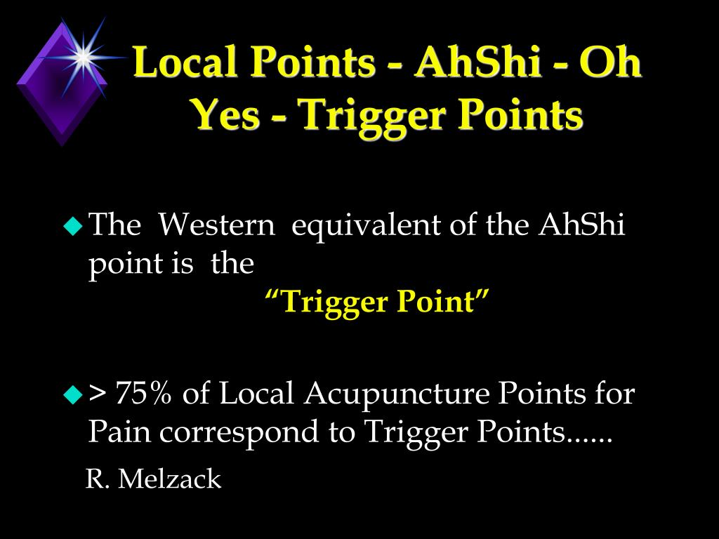 Local Points - AhShi - Oh Yes - Trigger Points