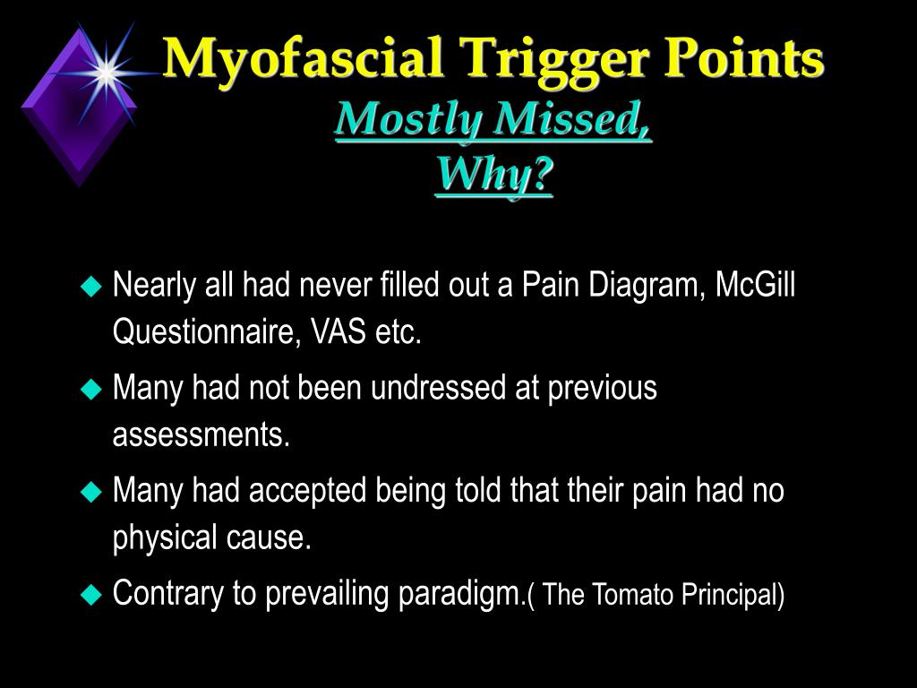 Myofascial Trigger Points