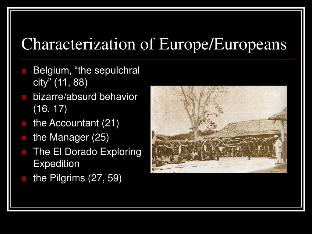 Characterization of Europe/Europeans