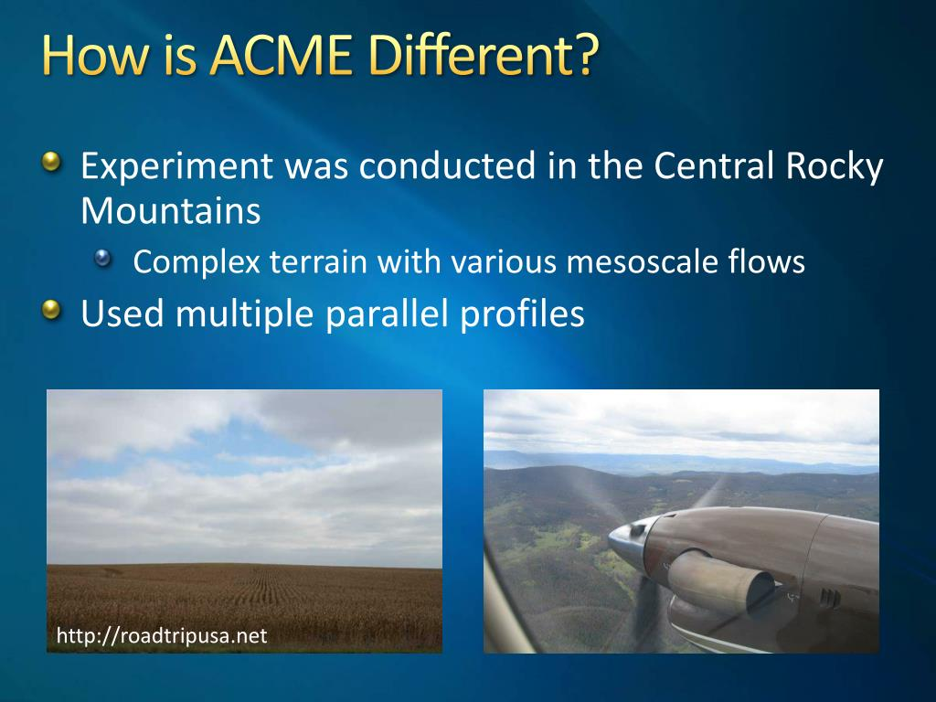 How is ACME Different?