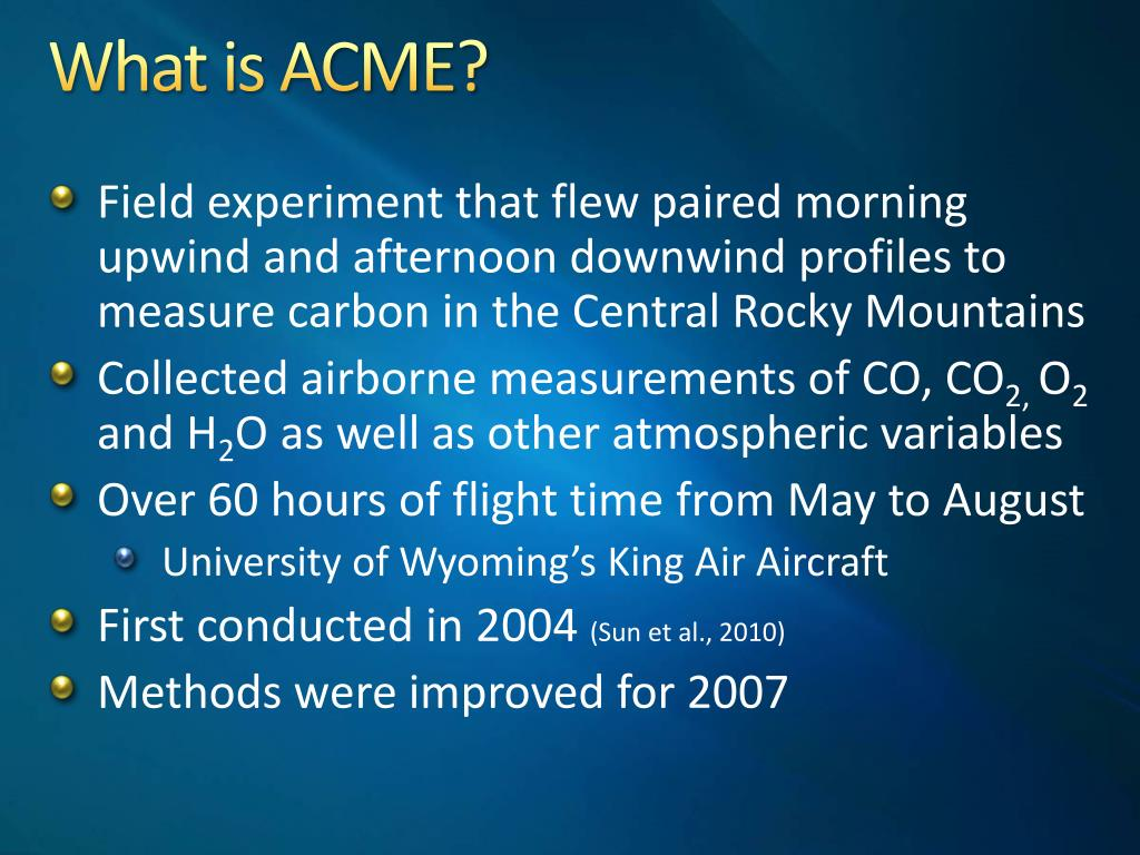 What is ACME?