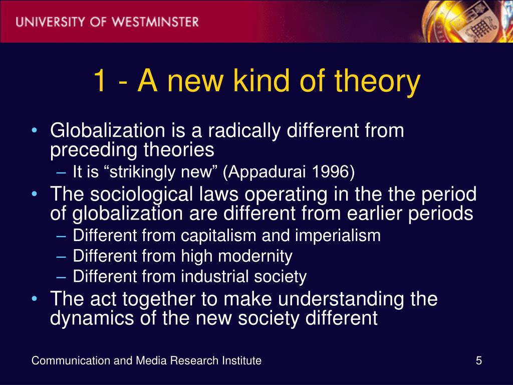 1 - A new kind of theory
