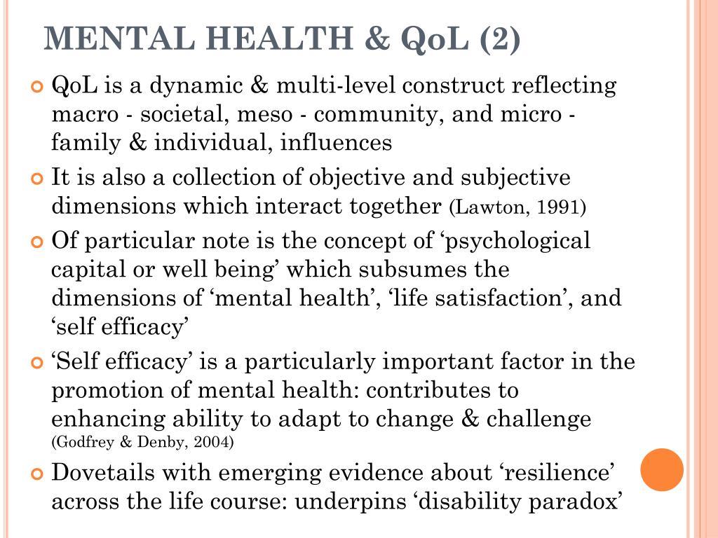 MENTAL HEALTH & QoL (2)