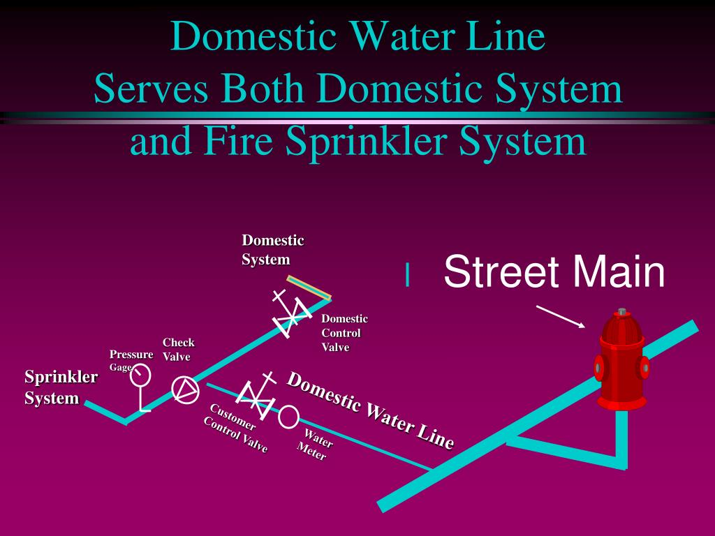 Domestic Water Line