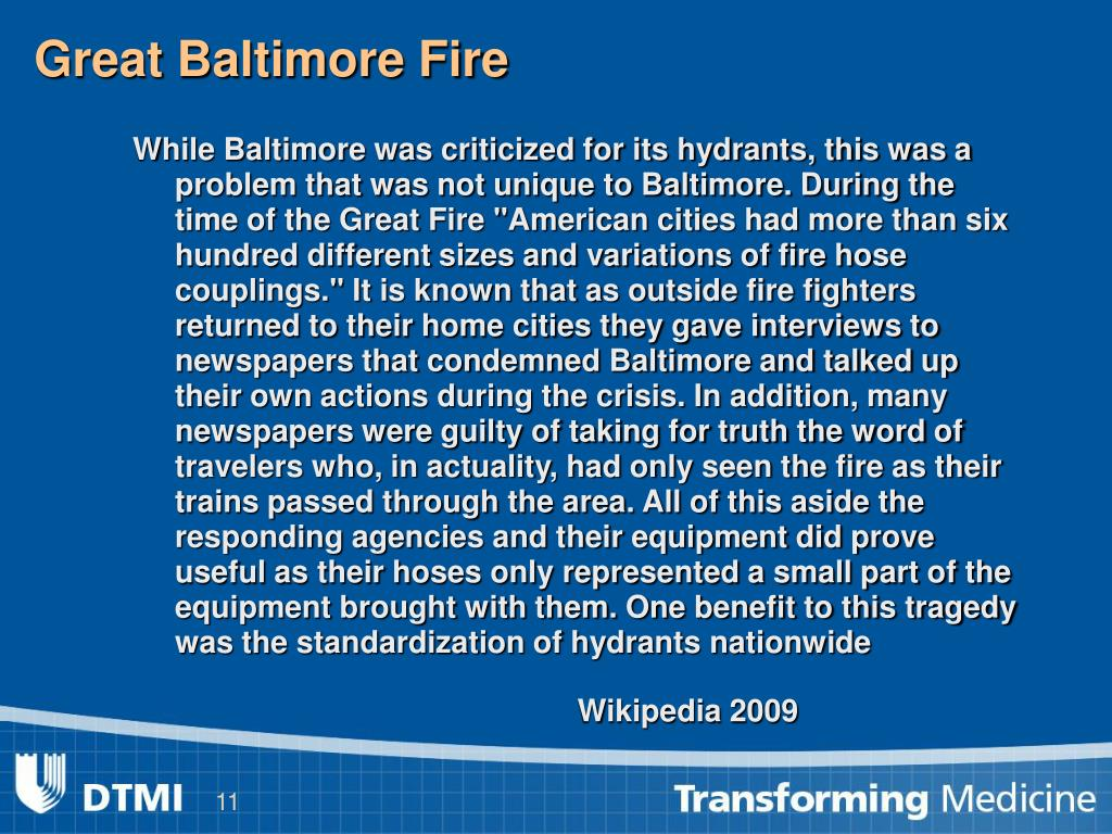 Great Baltimore Fire