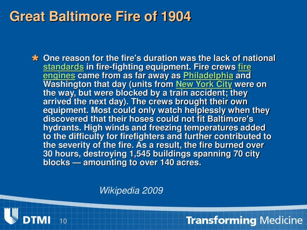 Great Baltimore Fire of 1904