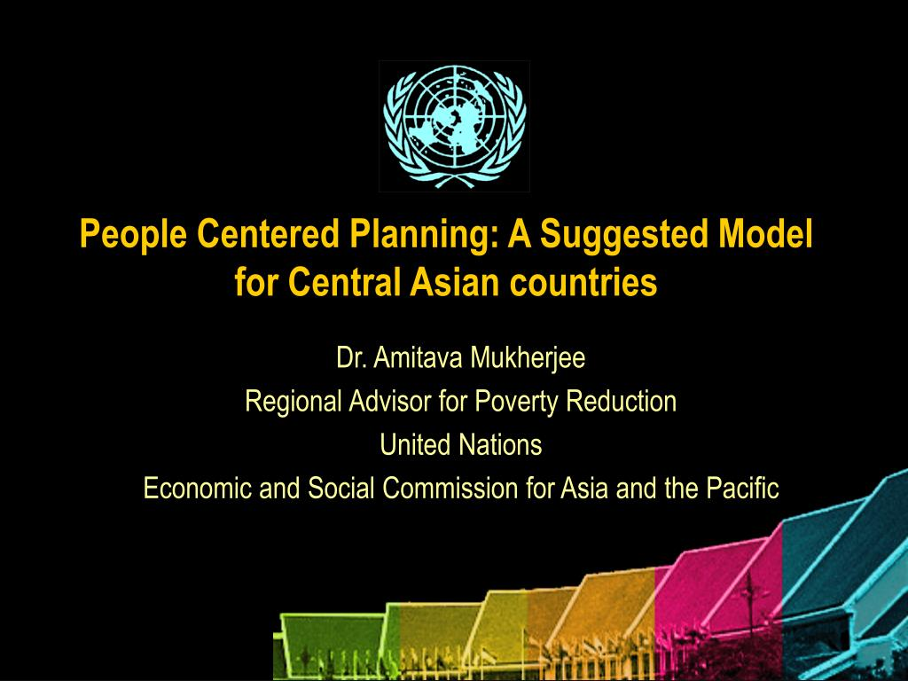 people centered planning a suggested model for central asian countries l.