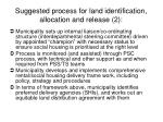 suggested process for land identification allocation and release 2