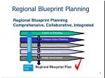regional blueprint planning comprehensive collaborative integrated