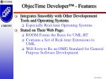 objectime developer features45