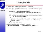 sample code31