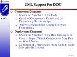 uml support for doc