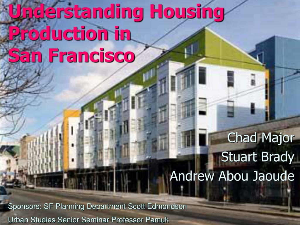 understanding housing production in san francisco l.