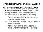 evolution and personality15