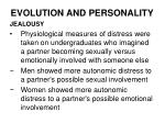 evolution and personality21