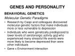 genes and personality33