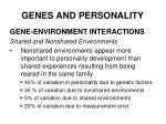 genes and personality36