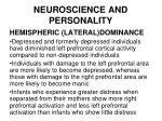 neuroscience and personality41