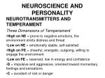 neuroscience and personality44