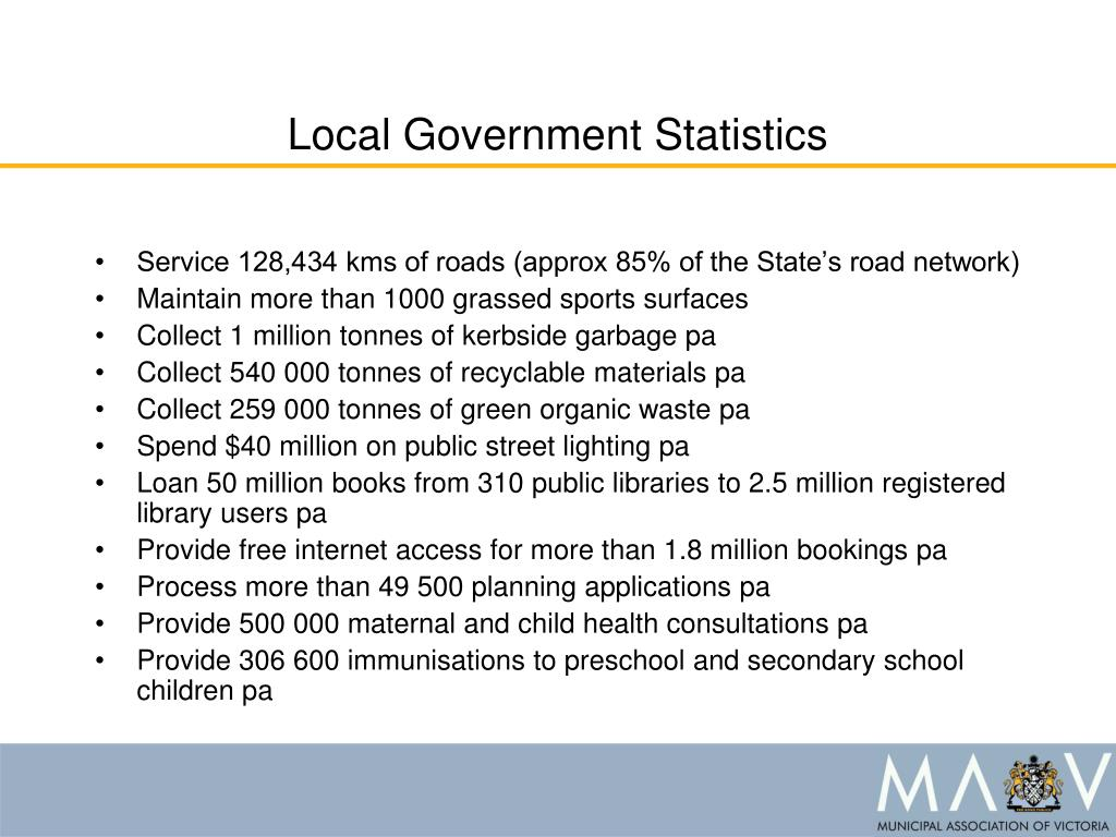 Local Government Statistics