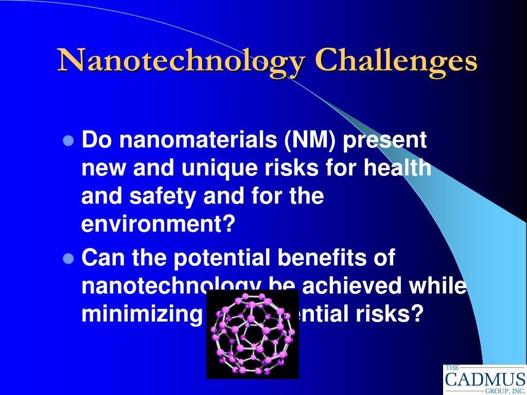 Nanotechnology Challenges