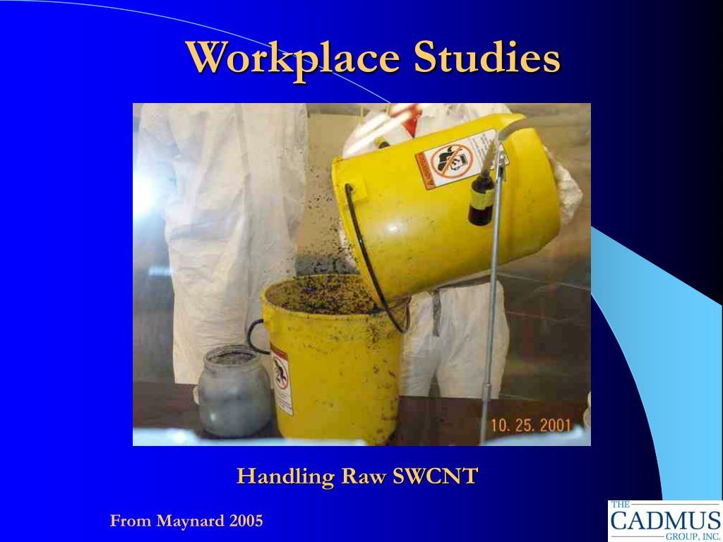 Workplace Studies