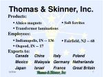 thomas skinner inc7