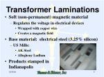 transformer laminations