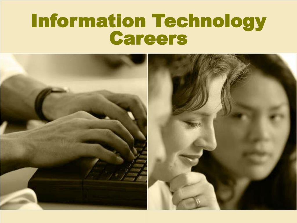 information technology careers l.