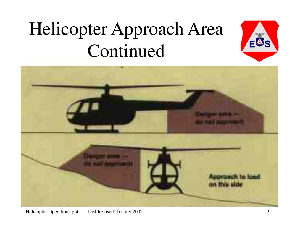 Helicopter Approach Area Continued