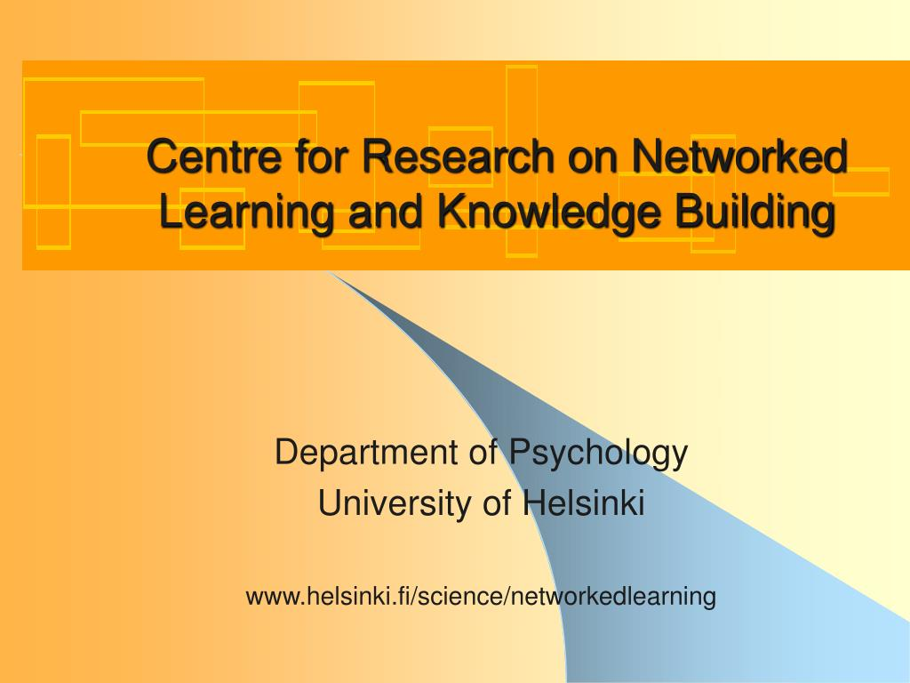 centre for the psychology of learning and experimental - HD 1024×768