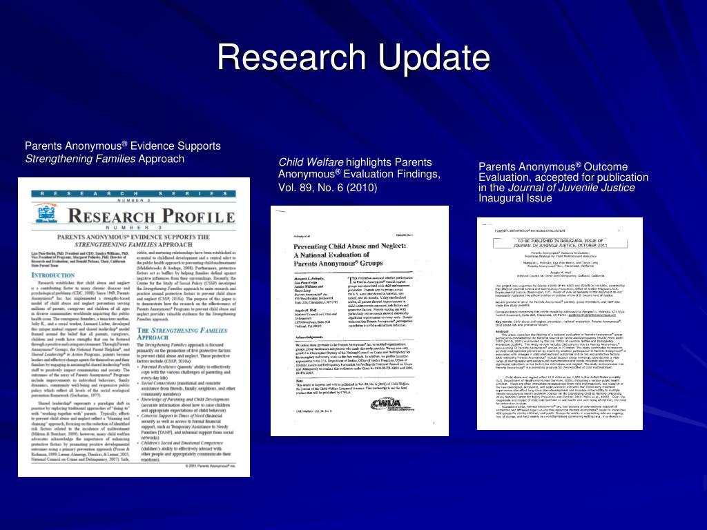 Research Update