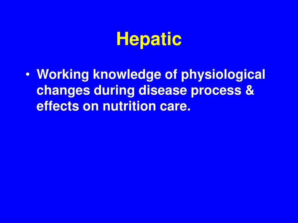 hepatic l.