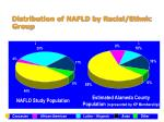 distribution of nafld by racial ethnic group